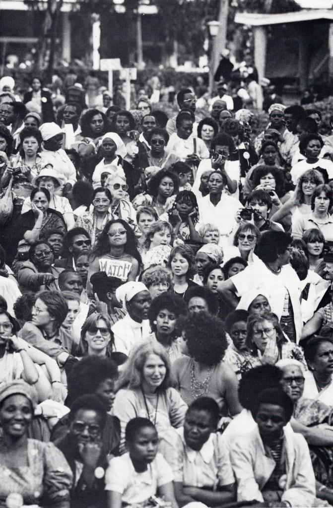«The Great Court,» lors de la cérémonie d'ouverture de la Conférence mondiale pour le suivi et l'examen des réalisations de la Décennie des Nations Unies pour la femme, Université de Nairobi, Kenya, 1985